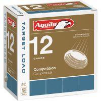 "Aguila Competition Target 12 Gauge Ammunition 250 Rounds 2-3/4"" #8 Lead 1oz 1275fps"